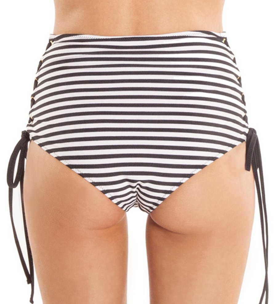 High Rise Fit Bikini Bottom, Amuse Society