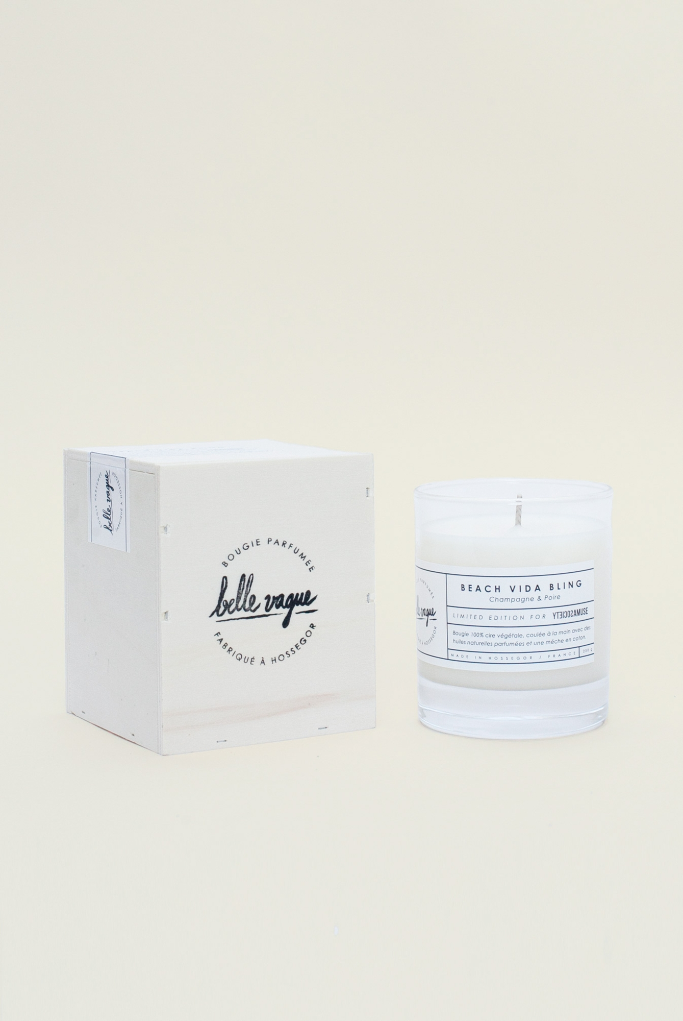 Belle Vague x Amuse Society Beach Vida Bling Candle