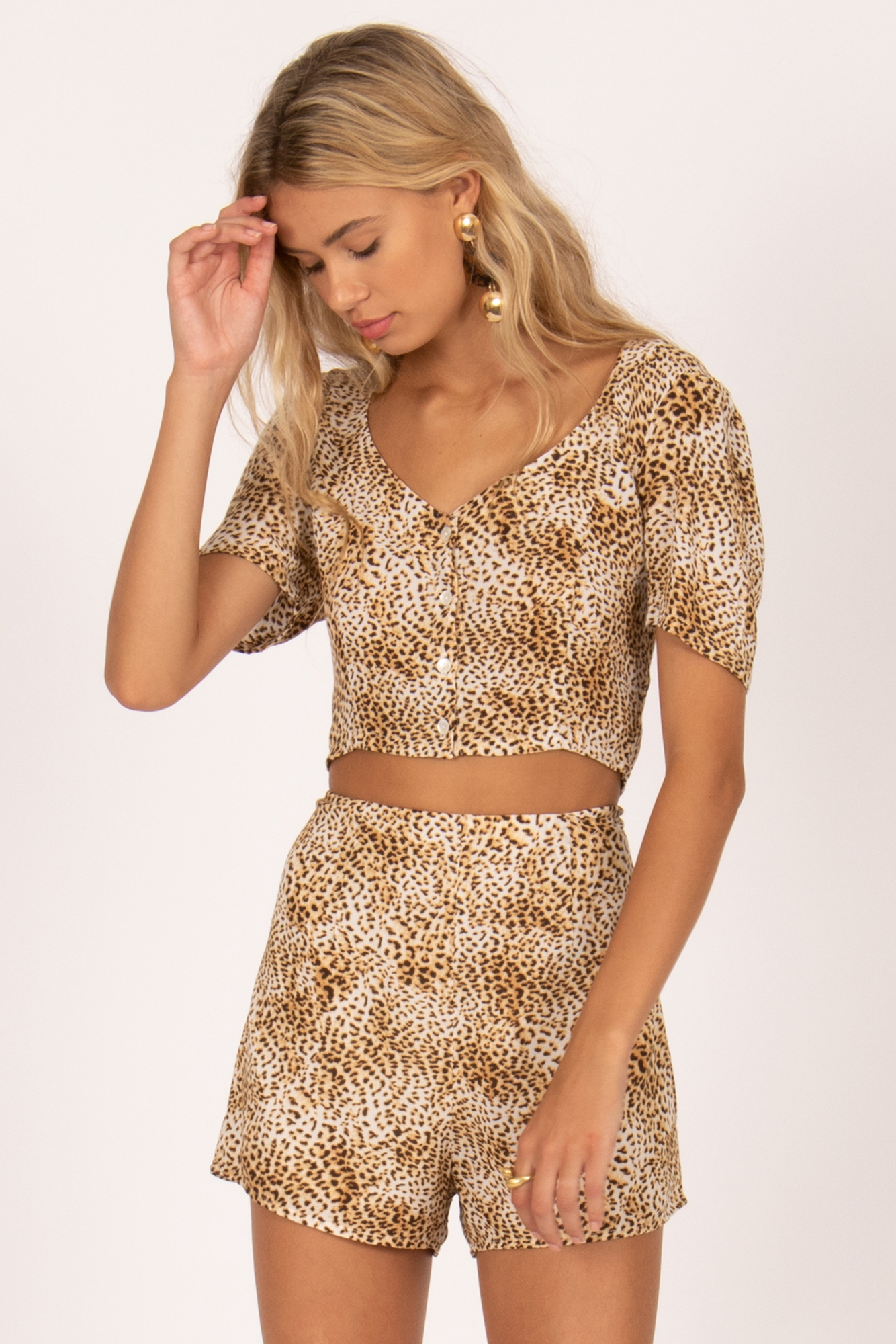 Jungle Babe Woven Top