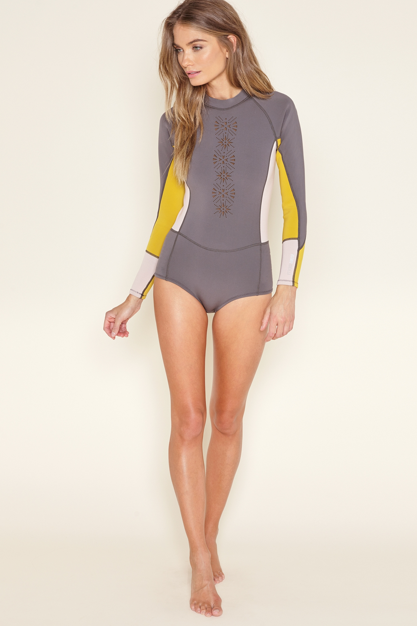 Kiliki Long Sleeve Neoprene One Piece
