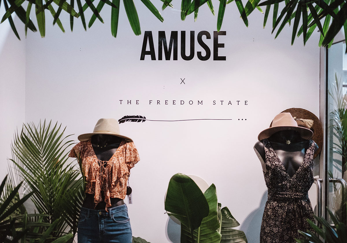Amuse x The Freedom State