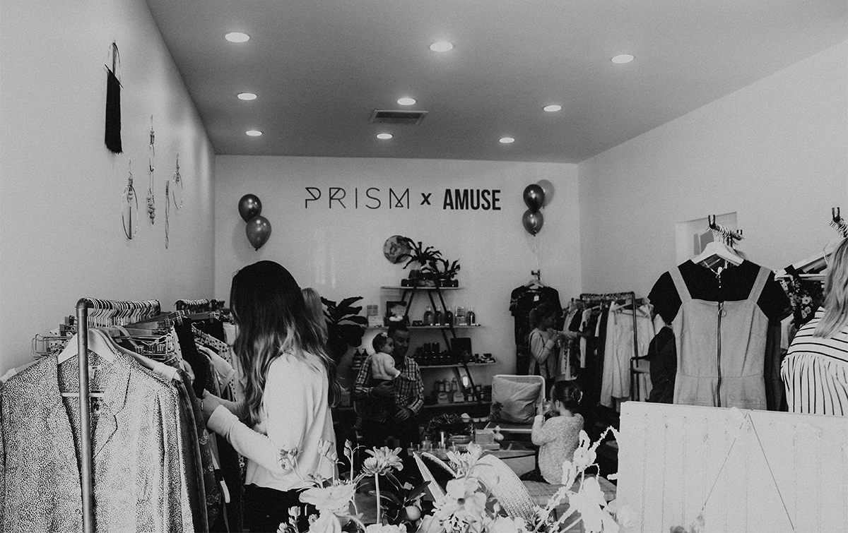 Prism x Amuse Pop Up Shop 4