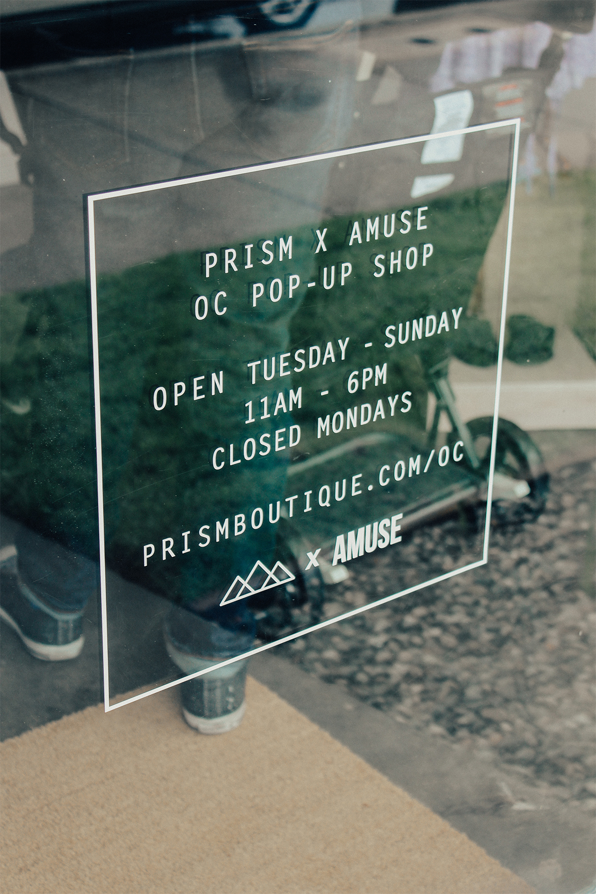 Prism x Amuse Pop Up Shop 14